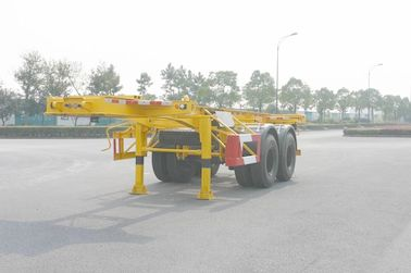 Cina Utilitas 40ft / 20ft Skeleton Kontainer Trailer Chassis / Semi Trailer 2 As Distributor