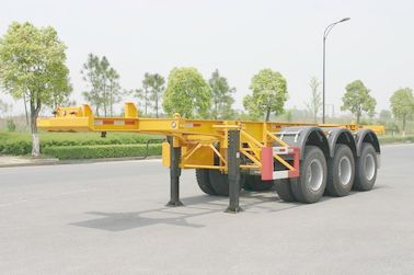 Cina 40ft Carbon steel Skeletal Kontainer Trailer Chassis (Rear 3 as Fuwa) Distributor