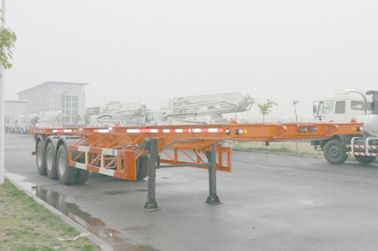 Cina 40ft Skeletal Tiga As Baja Shipping Container Trailer Chassis ISO9001 CCC Distributor