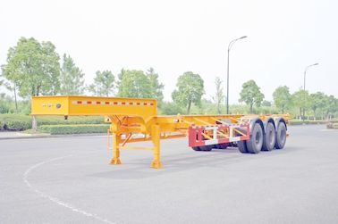 Cina Gooseneck 40ft Kontainer Trailer Chassis, ISO Kontainer Tank Trailer Semi Distributor