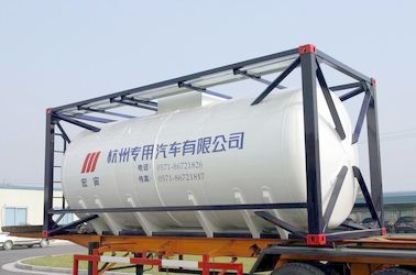 Cina Stainless Steel 20ft Liquid Tank Container 26000L International Shipping Standard Distributor