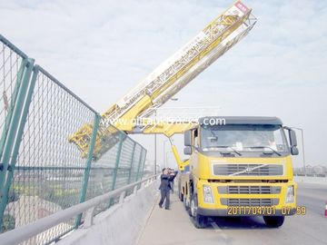 Cina 8x4 22m Latice Under Bridge Inspection Machine Dengan Air Suspension System Distributor