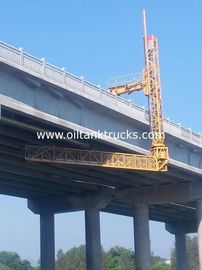 Cina VOLVO 22m Platform Under Bridge Inspection Vehicle Dengan Volvo Chassis Fleksibilitas Maksimum Distributor